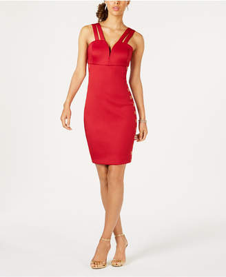 GUESS Embellished Bodycon Dress