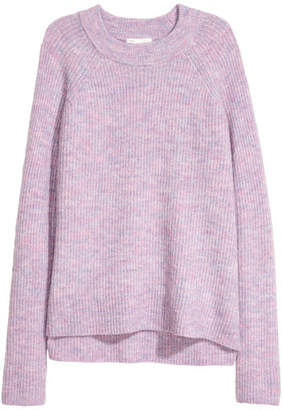 H&M Knit Sweater - Purple