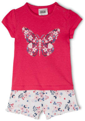 Sprout NEW Pajama Set Raspberry