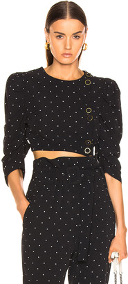 Alice McCall Oscar Top in Black | FWRD