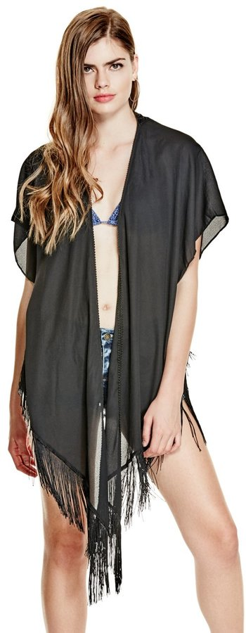GUESS Fringe Kimono