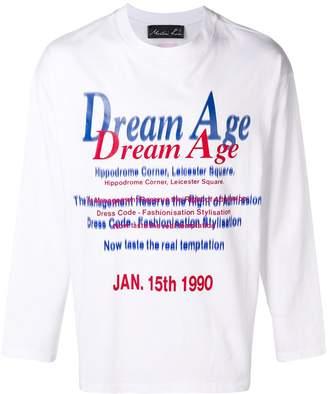 Martine Rose printed long-sleeved T-shirt