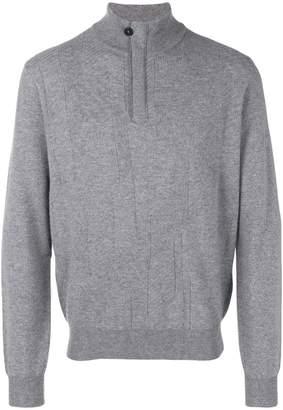 Corneliani high neck knit sweater
