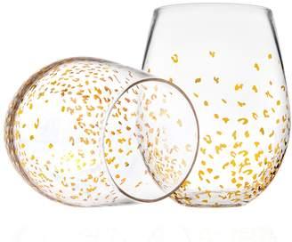Godinger Luxe Stemless Glasses (Set of 8)