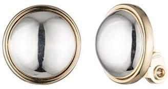 Ralph Lauren Button Clip-On Earrings