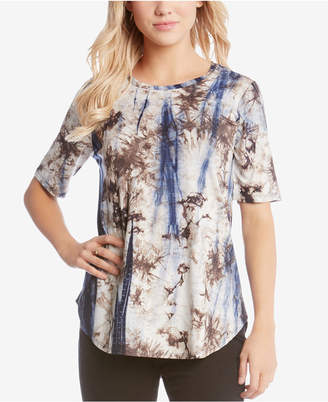Karen Kane Tie-Dyed T-Shirt
