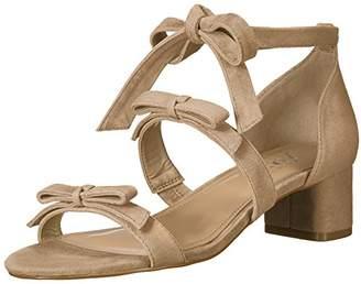 Amazon Brand - The Fix Women's Mischa Block Heel Ankle Wrap Sandal with Bows