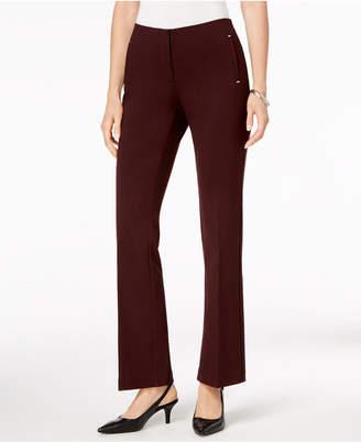 Alfani Ponte-Knit Trousers