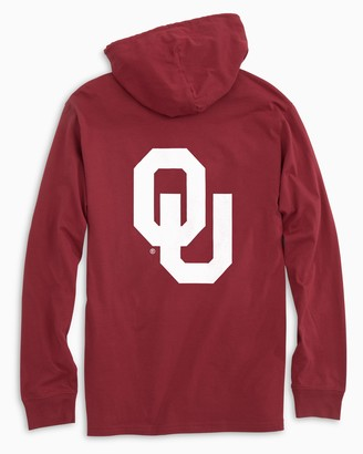 Southern Tide Gameday Skipjack Hoodie T-shirt - University of Oklahoma