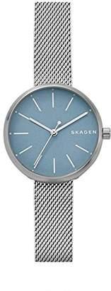 Skagen Women's SKW2622 Hald Three Hand Plated Watch