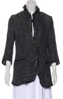 Ter Et Bantine Raw-Edge Tweed Jacket