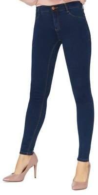 Dorothy Perkins Indigo Authentic Frankie Skinny Fit Jeans