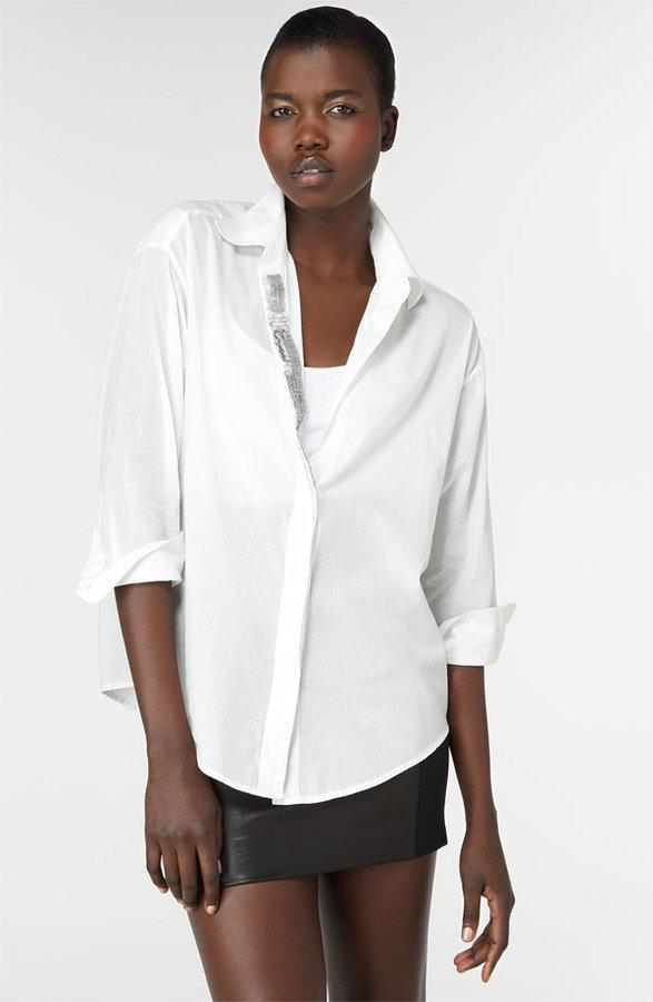 Elizabeth and James 'Pop Artist' Gauzy Cotton Shirt