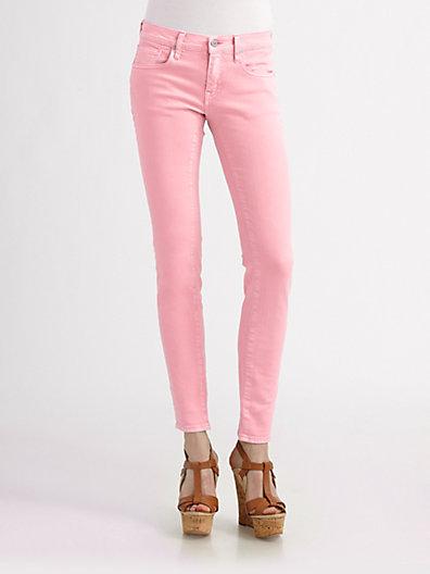 Ralph Lauren Blue Label Skinny Neon Jeans