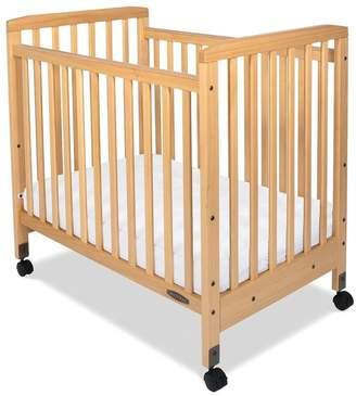 Child Craft Bristol Professional Series Compact Child Care Crib with Mattress