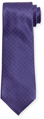 Stefano Ricci Neat Circle Silk Tie