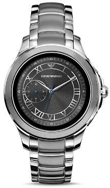 Emporio Armani Tech Stainless Steel Touchscreen Smartwatch, 43mm
