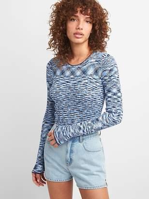 Gap Slim Ribbed Crewneck Sweater