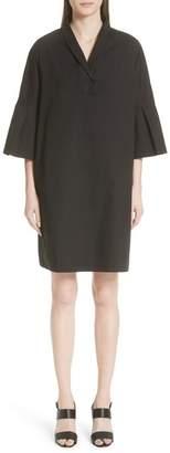 Fabiana Filippi Bell Sleeve Stretch Poplin Dress (Nordstrom Exclusive)
