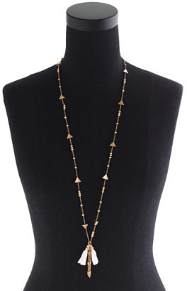 J.Crew Tassel drop necklace