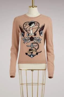 Valentino Tattoo Sweater