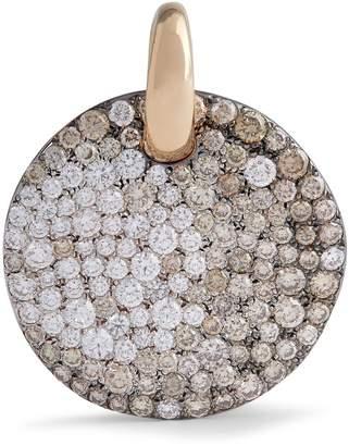 Pomellato Rose Gold and Diamond Sabbia Pendant