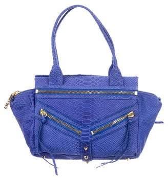 Botkier Embossed Leather Shoulder Bag