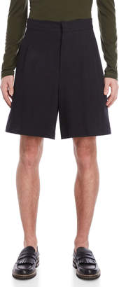 Jil Sander Striped Pleated Front Shorts