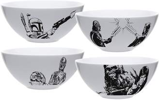 Zak Designs Star Wars 4-pc. Soup / Cereal Bowl Set