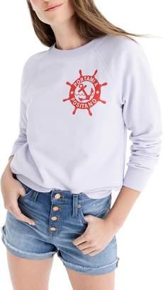 J.Crew Portami a Positano Raglan Sweatshirt