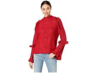 BB Dakota Power Cable Frulle Detailed Sweater