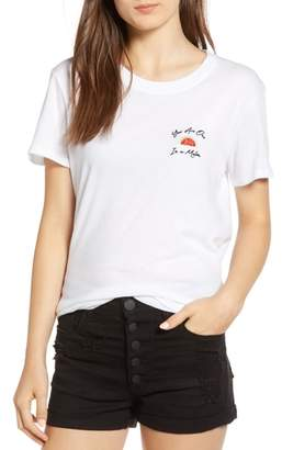 Sub Urban Riot Sub_Urban Riot One in a Melon Embroidered Slouched Tee