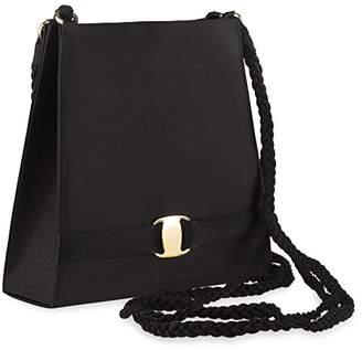 Farfalla Womens 80870 Shoulder Bag Black