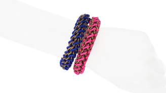 Mamazoo Chain Silk Weave Bracelet