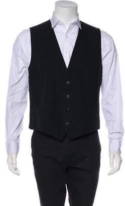 Dolce & Gabbana Woven Suit Vest