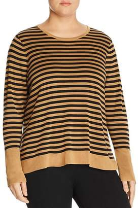 Eileen Fisher Plus Striped Sweater