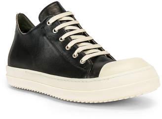Rick Owens Low Sneakers in Black | FWRD