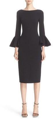 Women's Michael Kors Bell Sleeve Sheath Dress $1,995 thestylecure.com
