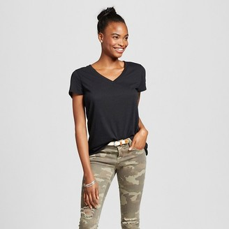 Mossimo Supply Co. Women's Short Sleeve Relaxed V-Neck Tee - Mossimo Supply Co. $8 thestylecure.com