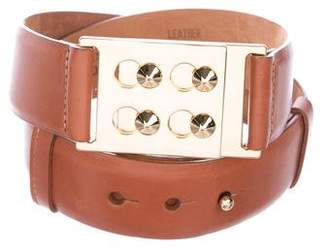 W.KLEINBERG W. Kleinberg Leather Waist Belt