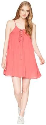 Roxy Softly Love Solid Dress Cover-Up Women's Swimwear