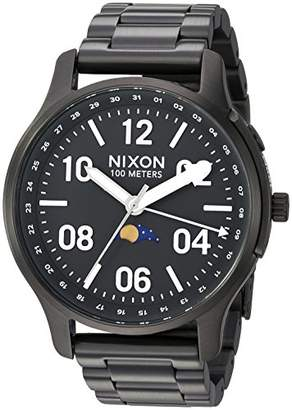 Nixon Men's Ascender Japanese-Quartz Watch with Stainless-Steel Strap
