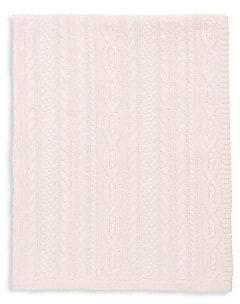 Ralph Lauren Baby's Cable-Stitch Cashmere Blanket