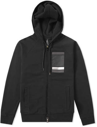 Neil Barrett Chest Square Zip Hoody