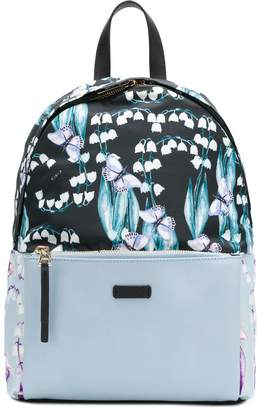 Furla butterfly print backpack