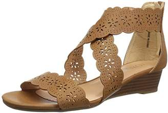 XOXO Women's Archie Wedge Sandal