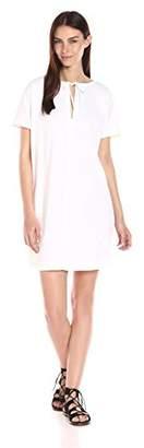 Theory Women's Alisia Crunch Wash Vneck Dress