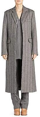 Stella McCartney Women's Melany Wool Herringbone Coat