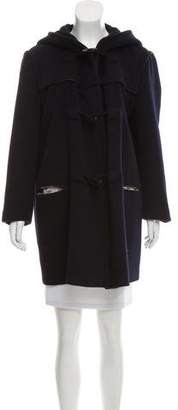 Giorgio Armani Hooded Cashmere Coat