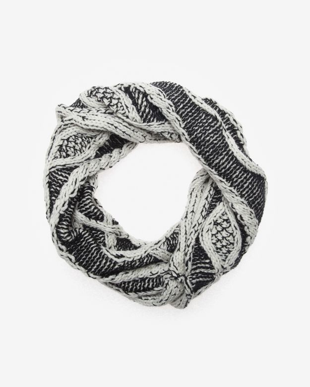 Yigal Azrouel Exclusive Cable Knit Neck Snood